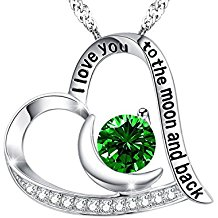 Emerald Birthday Necklace